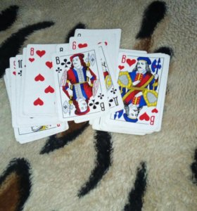 Продам карты игральные 1 колода 36 карты