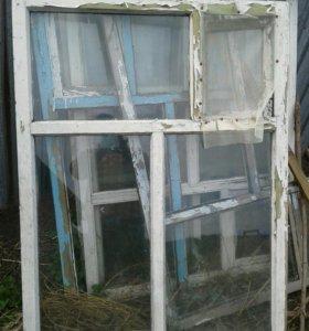 Продаются оконные рамы деревянные