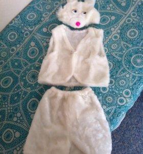 Маскарадный костюм зайца 3-6 лет