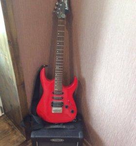 Гитара Washburn, комбик Custom