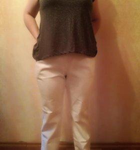 Белые джинсы 54р-р