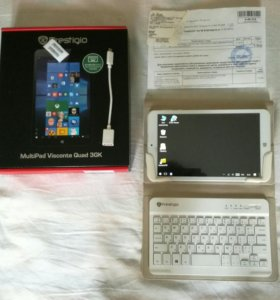 Планшет Prestigio Multipad Visconte 3G (Win10)