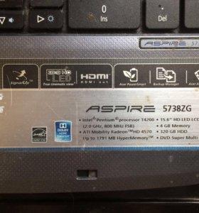 Acer Aspire 5738 ZG