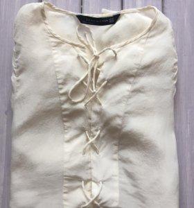 Блузка шифоновая Zara
