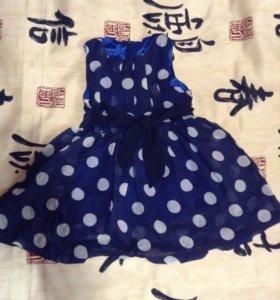 Новое платье 86-92