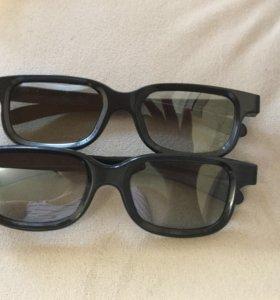 3D очки -6 штук
