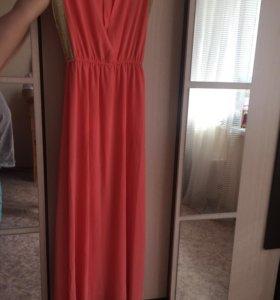 Платье в пол 44-48