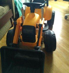 Трактор - электромобиль
