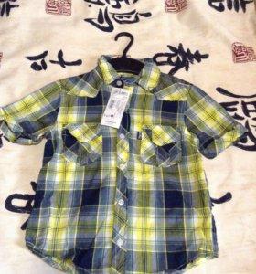 Новая рубашка 104-110р