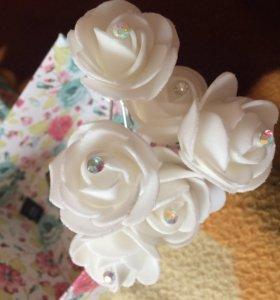 Шпильки -розы