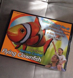Игрушка для детей Swimmers Flying Clownfish🐠