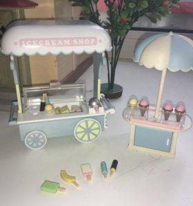 Sylvanian family ларёк с мороженым