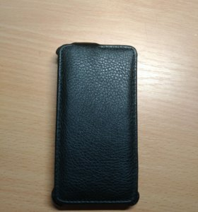 Кожаный чехол-раскладушка на Sony Xperia J