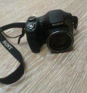 Фотоаппарат Sony DSC-h100 + сумка Sony