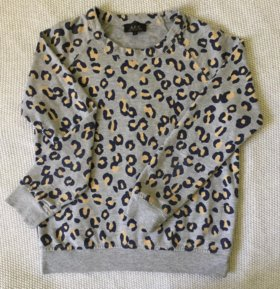 Леопардовая кофта  A.P.C.