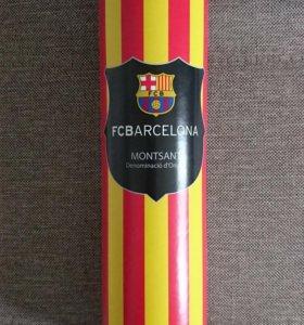 Коллекционная бутылка FCBarcelona