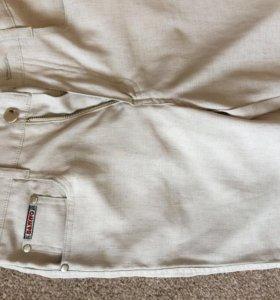 Льняные летние штаны