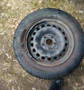 Новые летние шины и диски