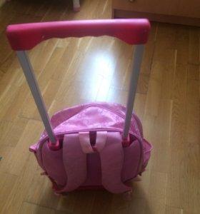 Рюкзак на колёсиках 2 в 1