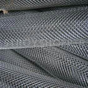 Сетка рабица /цинк,сталь,полимер/