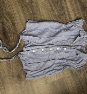 Рубашка на завязках