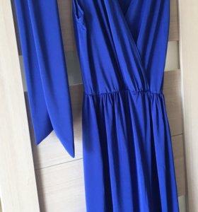 Платье длинное 48-50