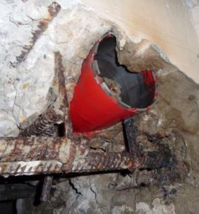 Алмазное бурение (сверление )бетона