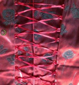 Корсет и юбка на выпускной