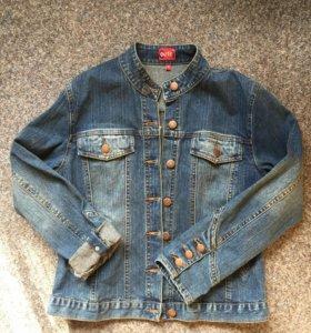 Джинсовый пиджак размер М