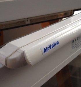 Оконный приточный клапан с фильтром AirValve 🌿🌬