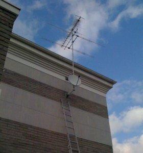 Ремонт антенн, антенны с установкой