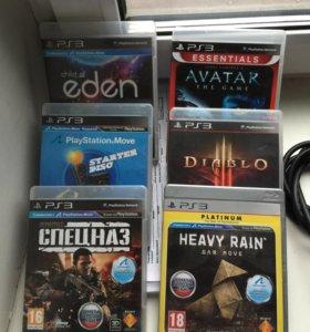 К игровой приставке PS3 игры