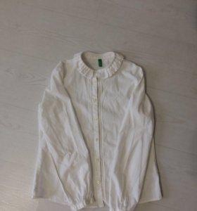 """""""Benetton""""детская рубашка"""
