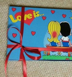 Коробка конфет Лав из...