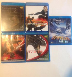 5 Blu-ray дисков