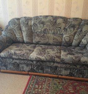 Продаётся диван и кресло