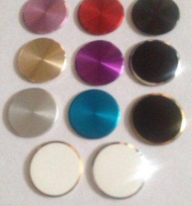 Кнопки и имитаторы отпечатков пальц iPhone