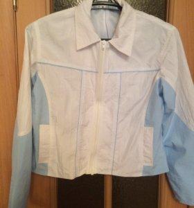 Женская легкая куртка-ветровка р. 44-46
