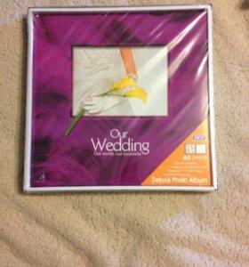 Новый свадебный фотоальбом