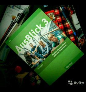 Учебник AusBlick3 C1 (Hueber) + CD-Rom+arbeitsbuch