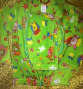 Мохровая пижама