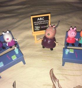 Набор школа свинка Пеппа