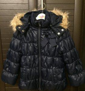 Куртка зимняя H&M, р.98