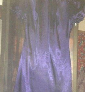 Платье Инсити фиалетовое