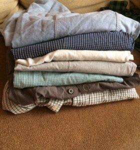 рубашки 6 штук