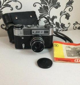 """Фотоаппарат """"ФЭД-5"""" с олимпийской символикой 80 г."""