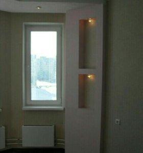 Ремонт,отделка домов,квартир.Сборка мебели