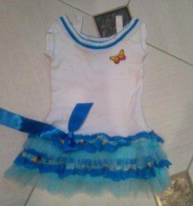 Новое платье на девочку на 3 года