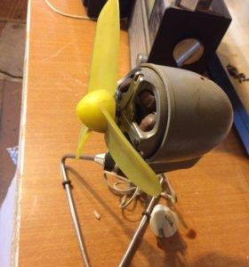 Вентилятор и радио приемники