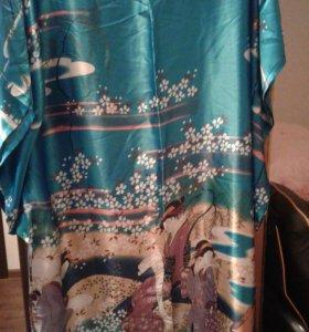 Шелковое платье домашнее